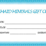 Mermaid Minerals Sample Gift Certificate